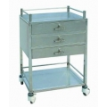 Trolley with 3 Drawers and Shelf