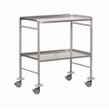 Instrument Trolley with Curved Corners